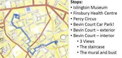 BCCR walk route