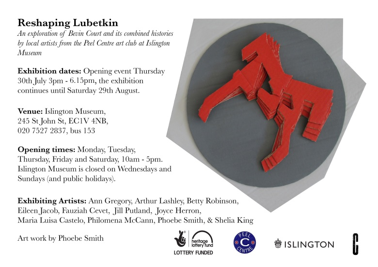 Reshaping Lubetkin Poster Final