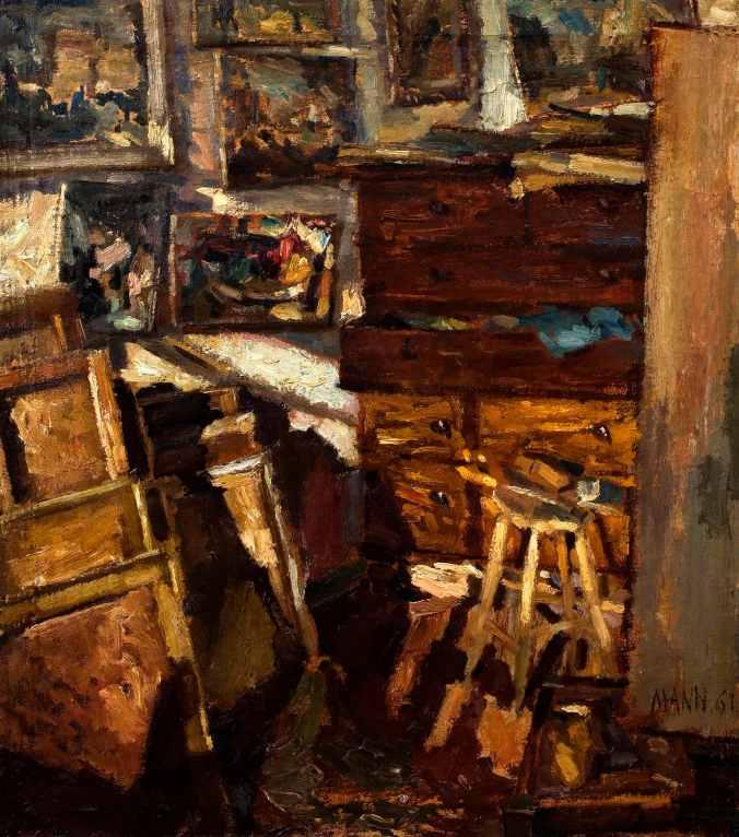 Cyril Mann Studio Corner