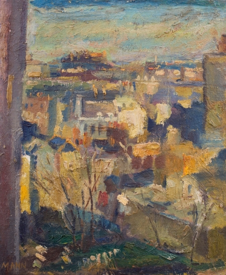 Cyril Mann View from Bevin Court (North), 1960