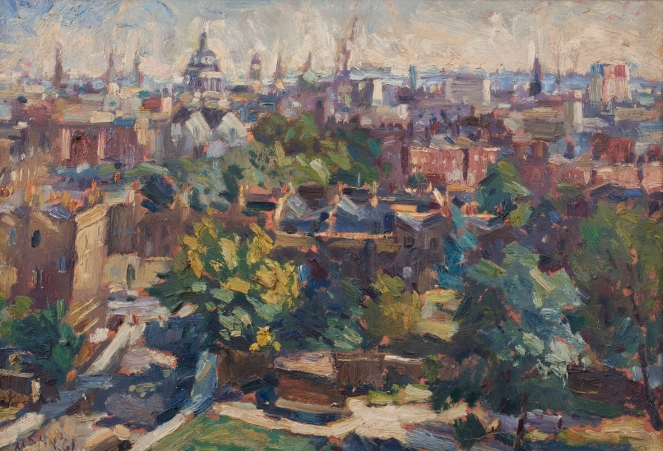 Cyril Mann View from Bevin Court (South), 1961