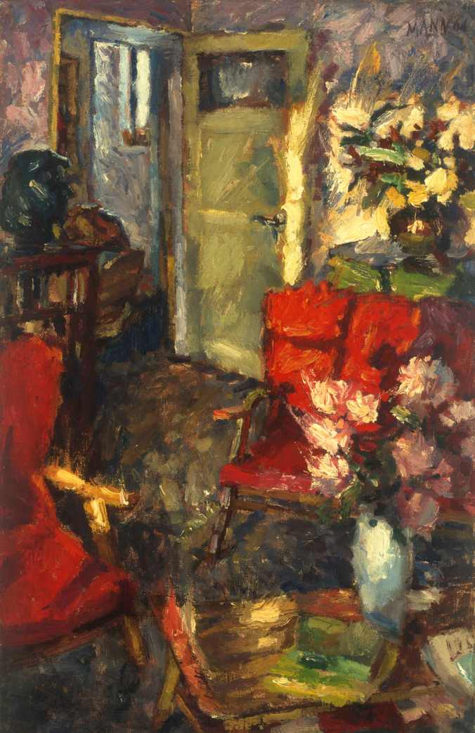 Cyrill Mann Interior with red chair