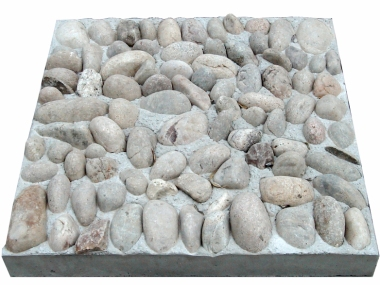 River Cobble Deterrent Paving