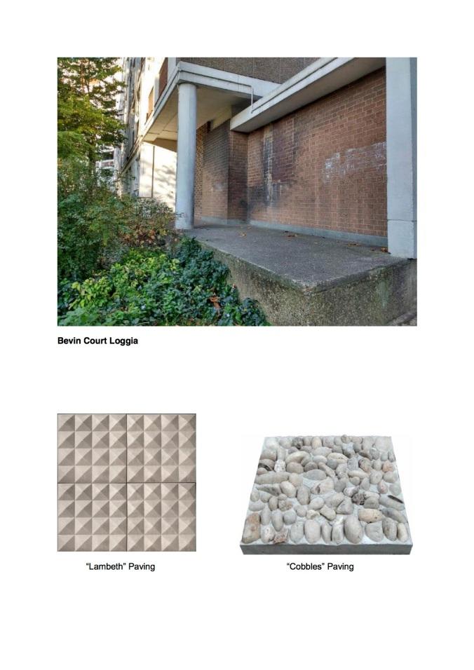 Scheme 1- Bevin Court Loggia